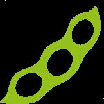 Sojabohne grün Icon