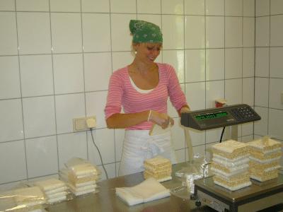 Anfang der Produktion