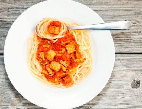 Tempeh Spaghetti
